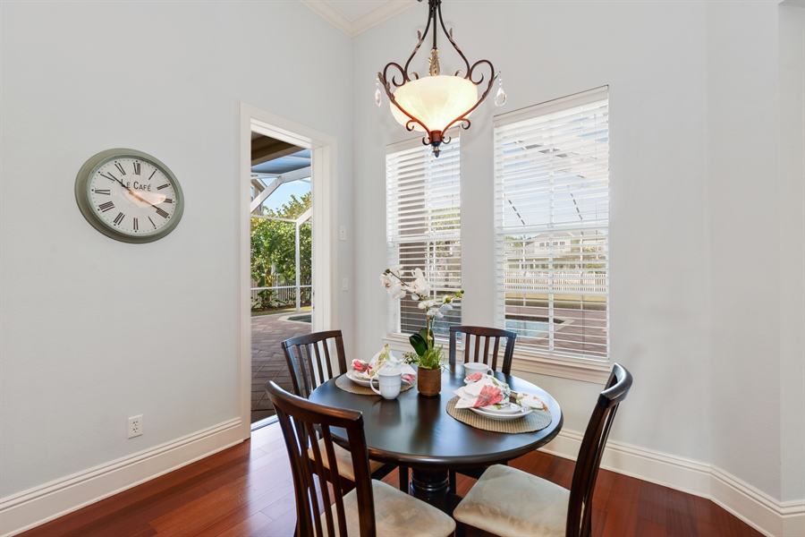 Real Estate Photography - 615 Balibay Rd, Apollo Beach, FL, 33572 - Breakfast Area