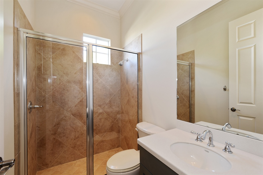 Real Estate Photography - 615 Balibay Rd, Apollo Beach, FL, 33572 - 4th Bathroom/ Cabana