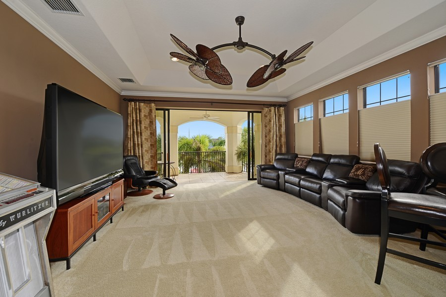 Real Estate Photography - 5417 Tybee Island Dr, Apollo Beach, FL, 33572 - Bonus / Game / Media Room