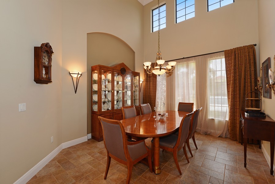 Real Estate Photography - 5417 Tybee Island Dr, Apollo Beach, FL, 33572 - Dining Room