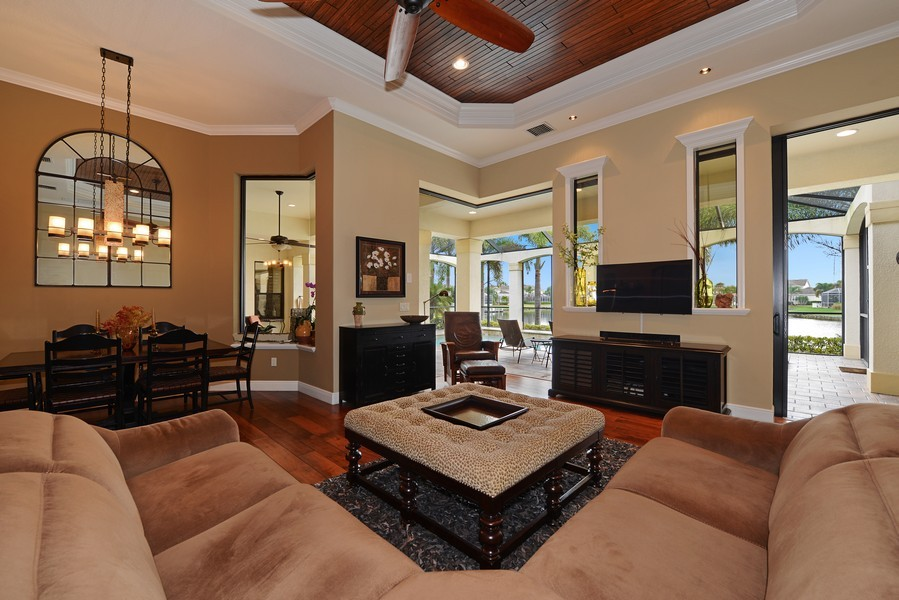 Real Estate Photography - 5417 Tybee Island Dr, Apollo Beach, FL, 33572 - Family Room