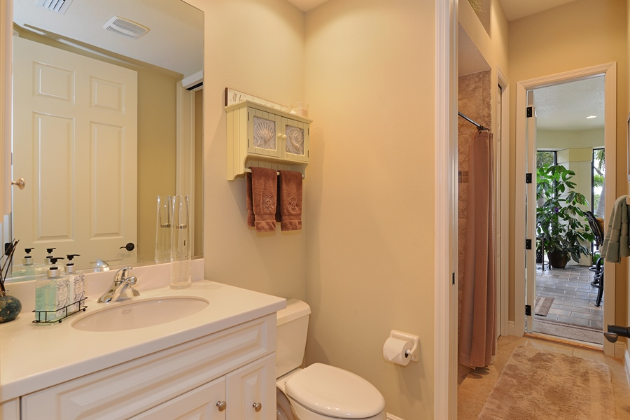 Real Estate Photography - 5417 Tybee Island Dr, Apollo Beach, FL, 33572 - Bath 2- First Floor