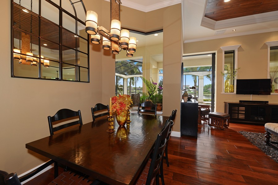 Real Estate Photography - 5417 Tybee Island Dr, Apollo Beach, FL, 33572 - Breakfast area