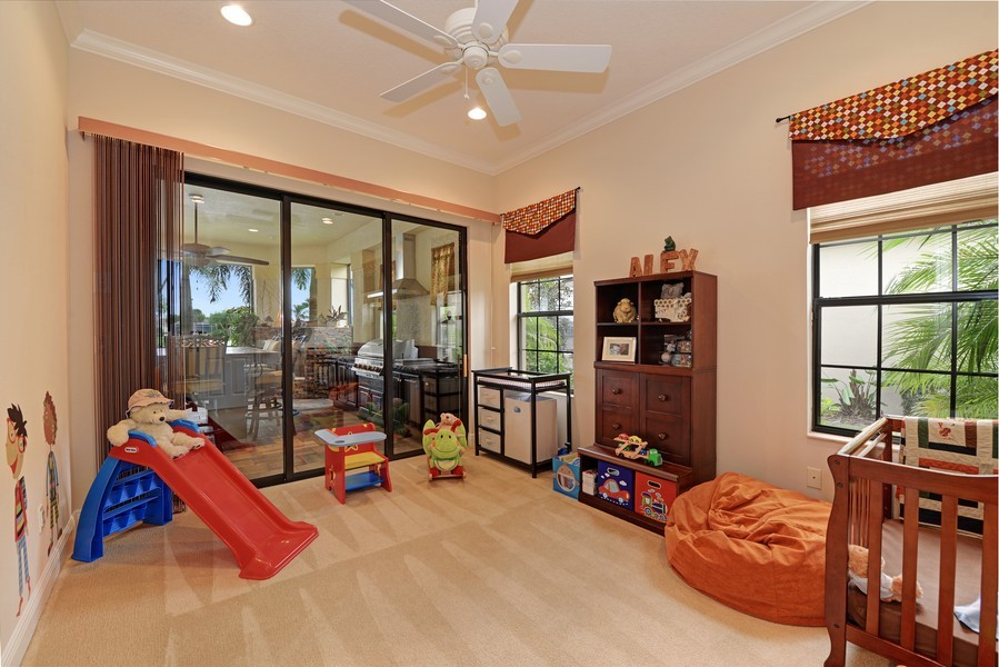 Real Estate Photography - 5417 Tybee Island Dr, Apollo Beach, FL, 33572 - Bedroom 3- First Floor