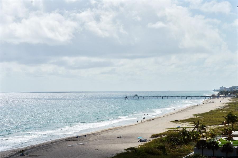 Real Estate Photography - 1500 S Ocean Blvd, Unit S706, Boca Raton, FL, 33432 - Ocean View