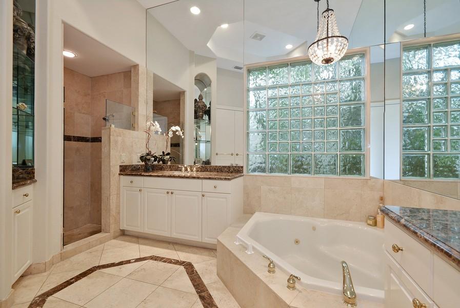 Real Estate Photography - 7061 Mallorca Crescent, Boca Raton, FL, 33433 - Master Bathroom