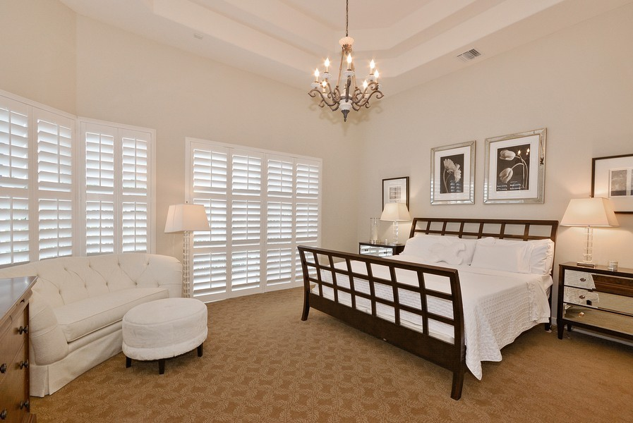 Real Estate Photography - 7061 Mallorca Crescent, Boca Raton, FL, 33433 - Master Bedroom