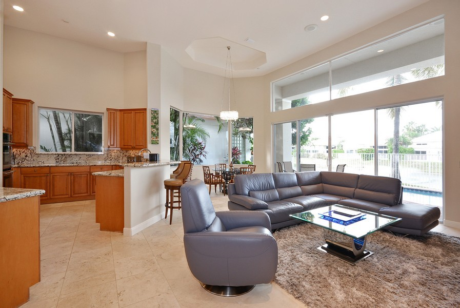 Real Estate Photography - 7061 Mallorca Crescent, Boca Raton, FL, 33433 - Family Room