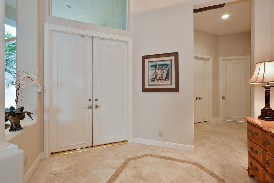 Real Estate Photography - 7061 Mallorca Crescent, Boca Raton, FL, 33433 - Foyer