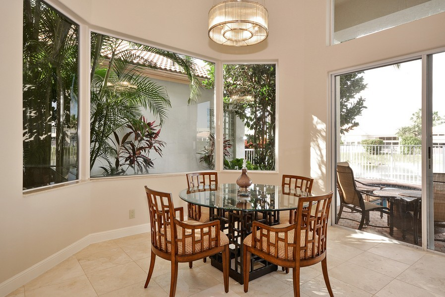 Real Estate Photography - 7061 Mallorca Crescent, Boca Raton, FL, 33433 - Breakfast Area