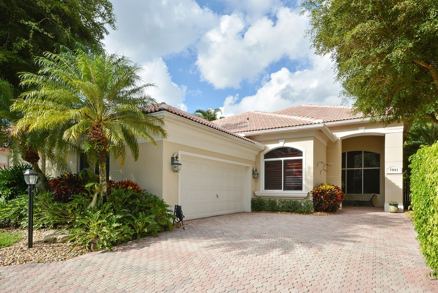 Real Estate Photography - 7061 Mallorca Crescent, Boca Raton, FL, 33433 - Front View
