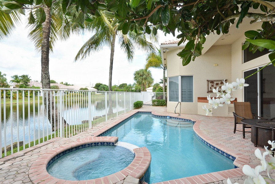 Real Estate Photography - 7061 Mallorca Crescent, Boca Raton, FL, 33433 - Deck