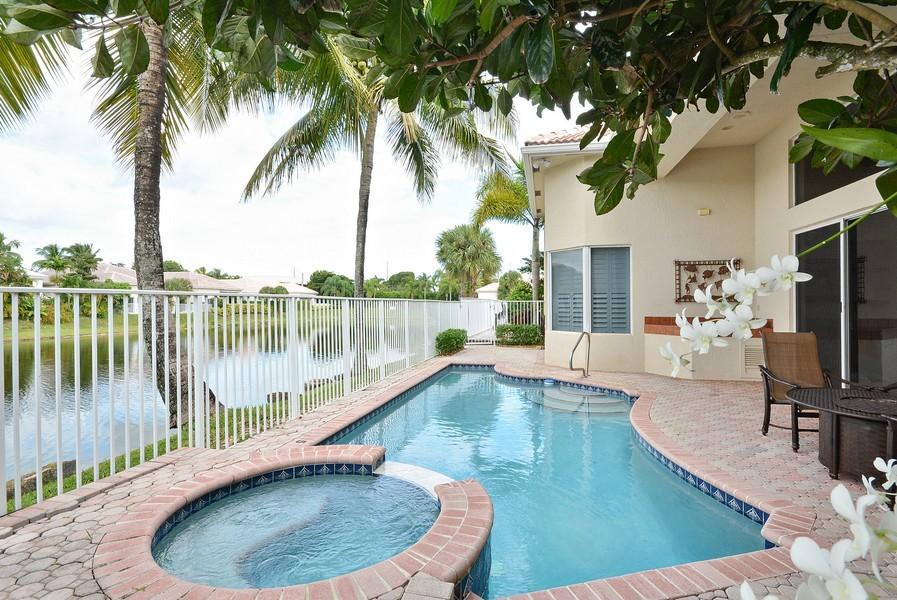 Real Estate Photography - 7061 Mallorca Crescent, Boca Raton, FL, 33433 - Deck