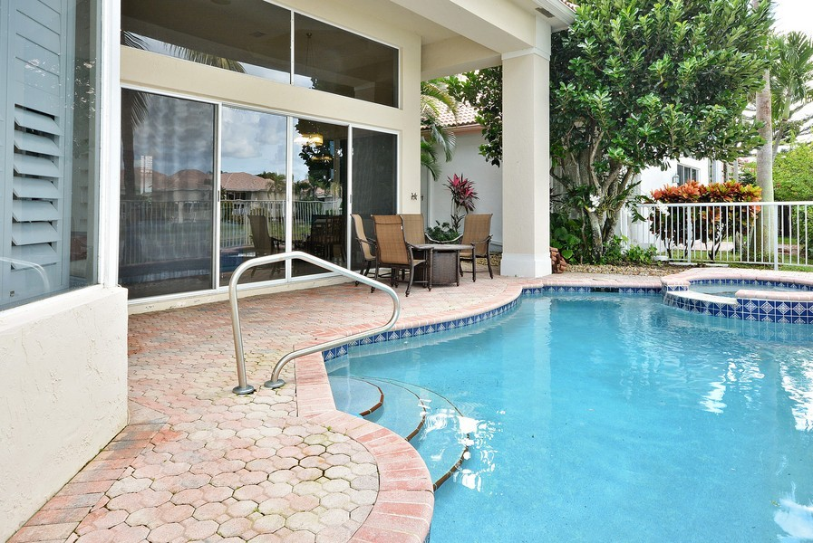 Real Estate Photography - 7061 Mallorca Crescent, Boca Raton, FL, 33433 - Patio