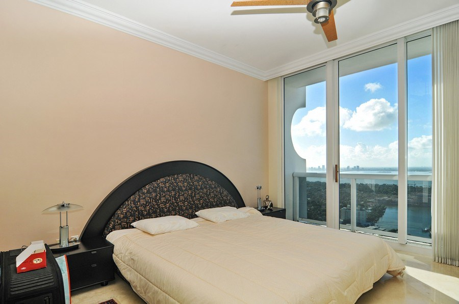 Real Estate Photography - 4779 Collins Ave, Unit 4207, Miami Beach, FL, 33140 - Master Bedroom