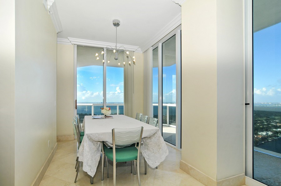 Real Estate Photography - 4779 Collins Ave, Unit 4207, Miami Beach, FL, 33140 - Dining Room