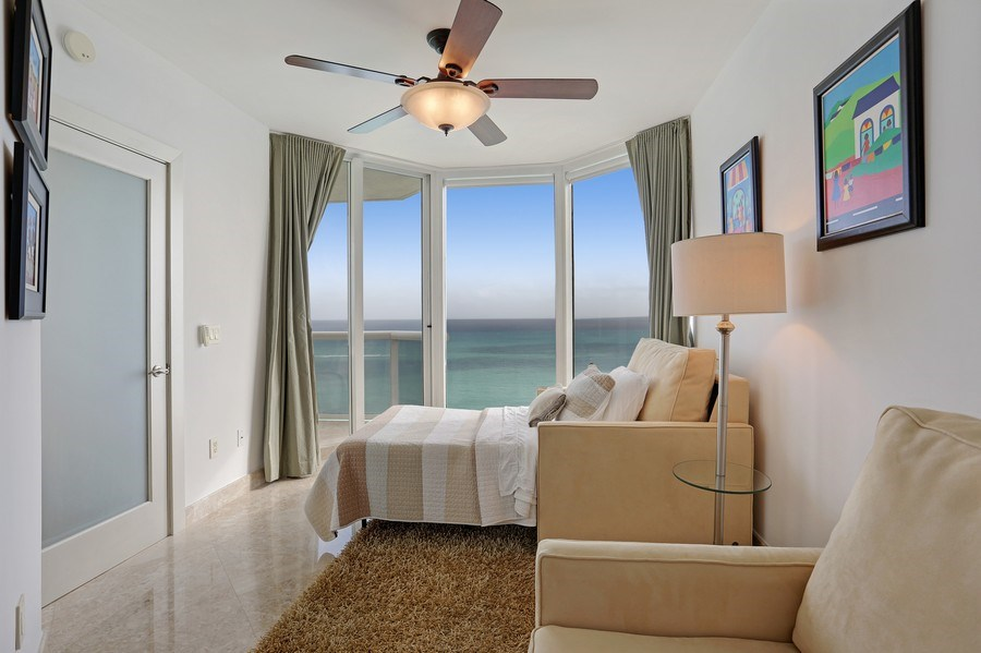 Real Estate Photography - 4779 Collins Ave, Unit 3602, Miami Beach, FL, 33140 - Bedroom