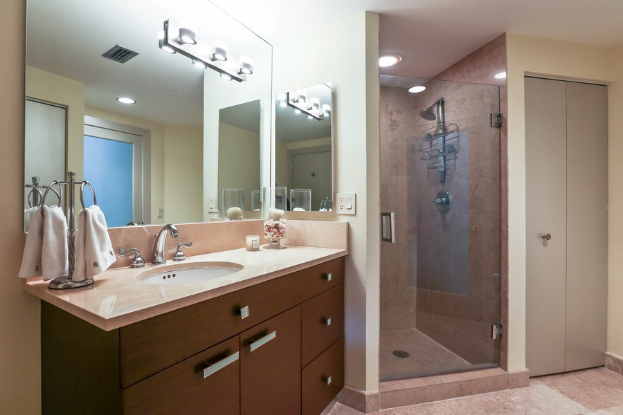 Real Estate Photography - 4779 Collins Ave, Unit 3602, Miami Beach, FL, 33140 - 2nd Bathroom