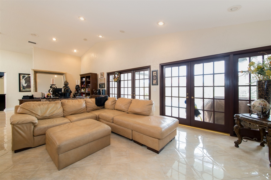 Real Estate Photography - 22640 W Esplanada Circle W, Boca Raton, FL, 33433 - Living Room