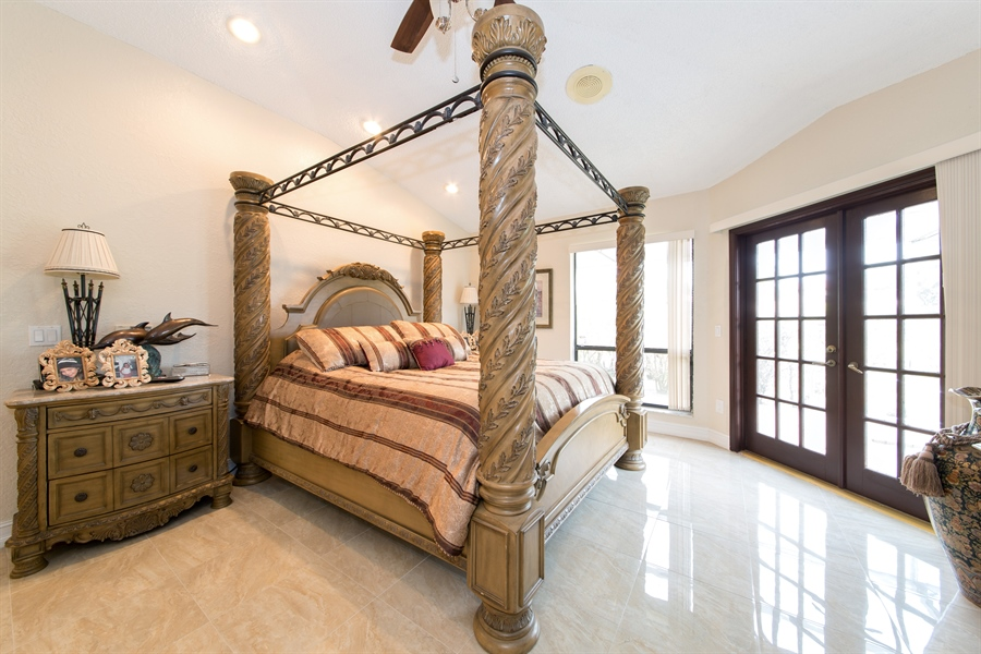 Real Estate Photography - 22640 W Esplanada Circle W, Boca Raton, FL, 33433 - Master Bedroom