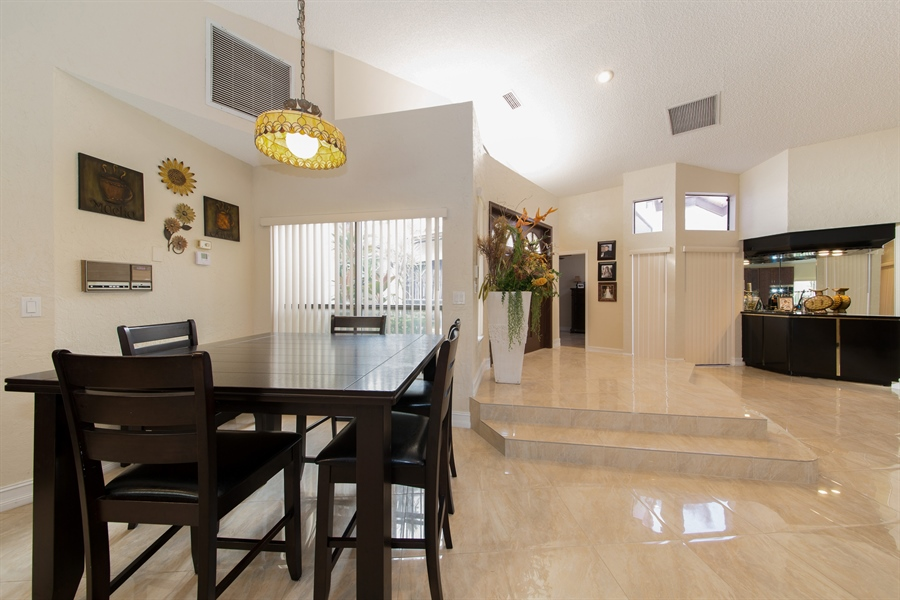 Real Estate Photography - 22640 W Esplanada Circle W, Boca Raton, FL, 33433 - Dining Room