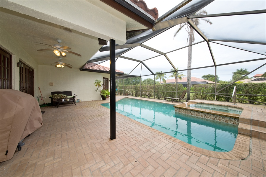 Real Estate Photography - 22640 W Esplanada Circle W, Boca Raton, FL, 33433 - Pool