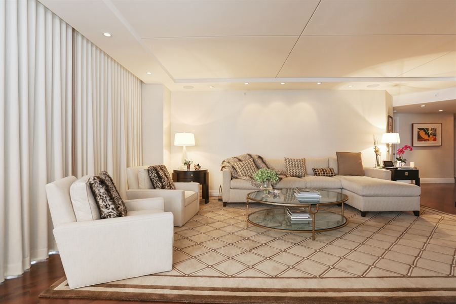 Real Estate Photography - 4779 Collins Ave, 903, Miami Beach, FL, 33140 - Living Room