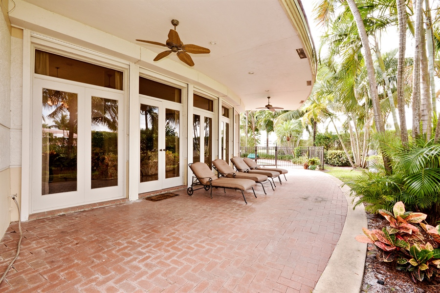 Real Estate Photography - 21133 Ormond Ct, Boca Raton, FL, 33433 - Terrace
