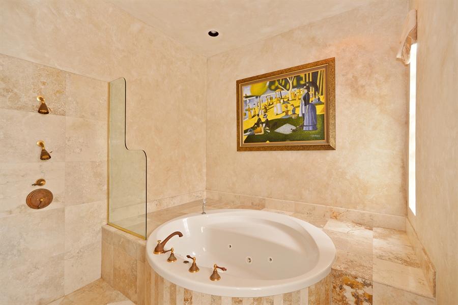 Real Estate Photography - 21133 Ormond Ct, Boca Raton, FL, 33433 - Master Bathroom