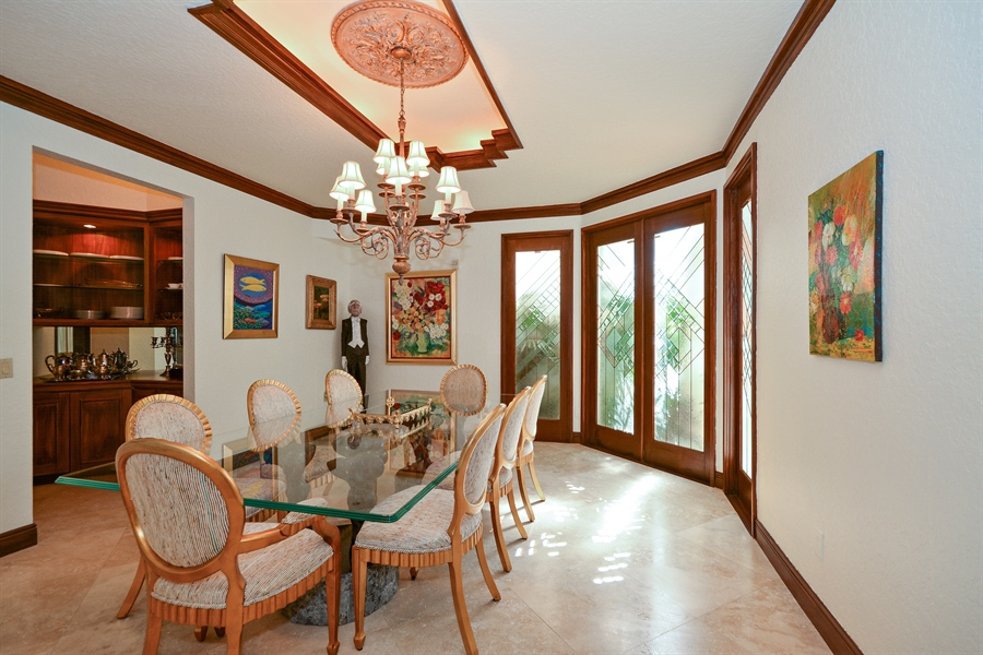Real Estate Photography - 21133 Ormond Ct, Boca Raton, FL, 33433 - Dining Room