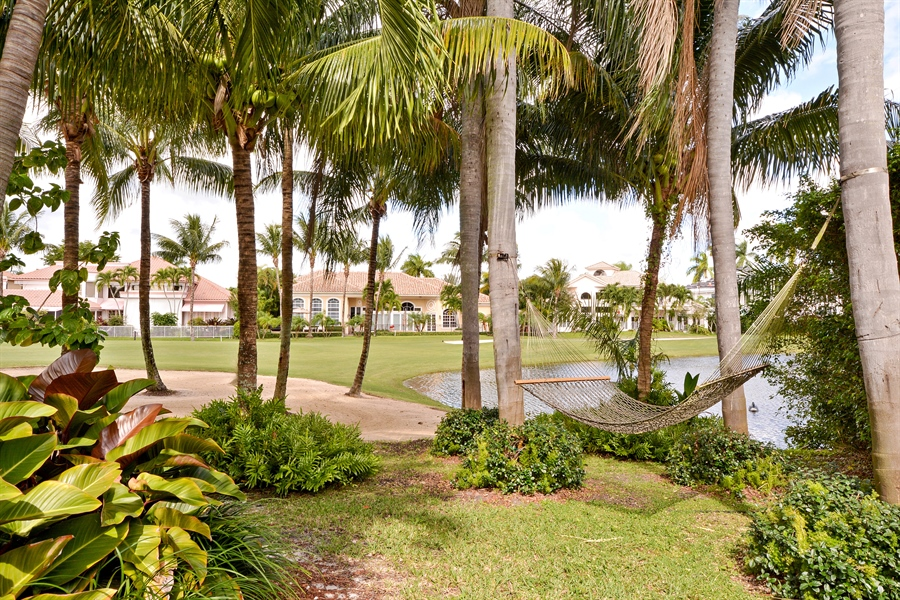 Real Estate Photography - 21133 Ormond Ct, Boca Raton, FL, 33433 - Back Yard