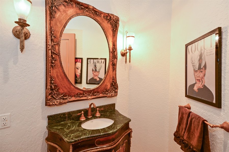 Real Estate Photography - 21133 Ormond Ct, Boca Raton, FL, 33433 - Half Bath