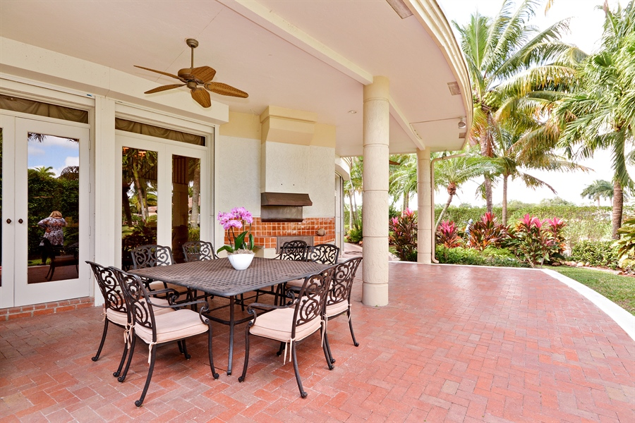 Real Estate Photography - 21133 Ormond Ct, Boca Raton, FL, 33433 - Patio