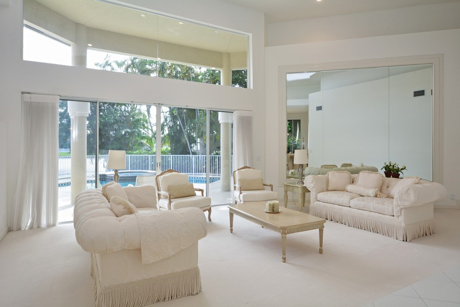 Real Estate Photography - 3024 NW 63rd St, Boca Raton, FL, 33496 - Living Room