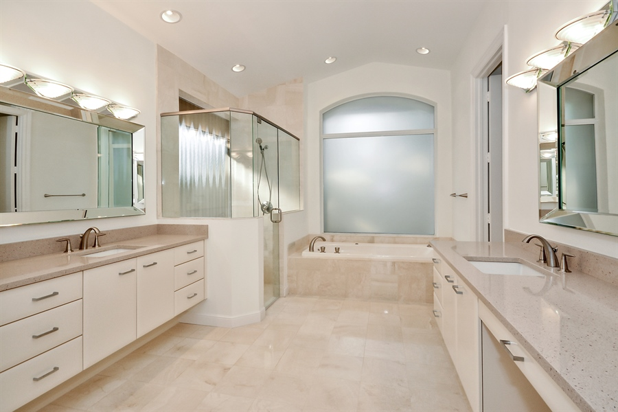 Real Estate Photography - 3024 NW 63rd St, Boca Raton, FL, 33496 - Master Bathroom