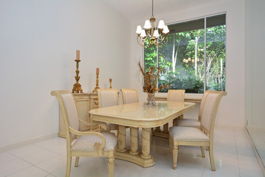 Real Estate Photography - 3024 NW 63rd St, Boca Raton, FL, 33496 - Dining Room