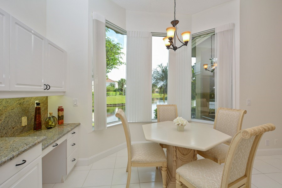 Real Estate Photography - 3024 NW 63rd St, Boca Raton, FL, 33496 - Breakfast Nook