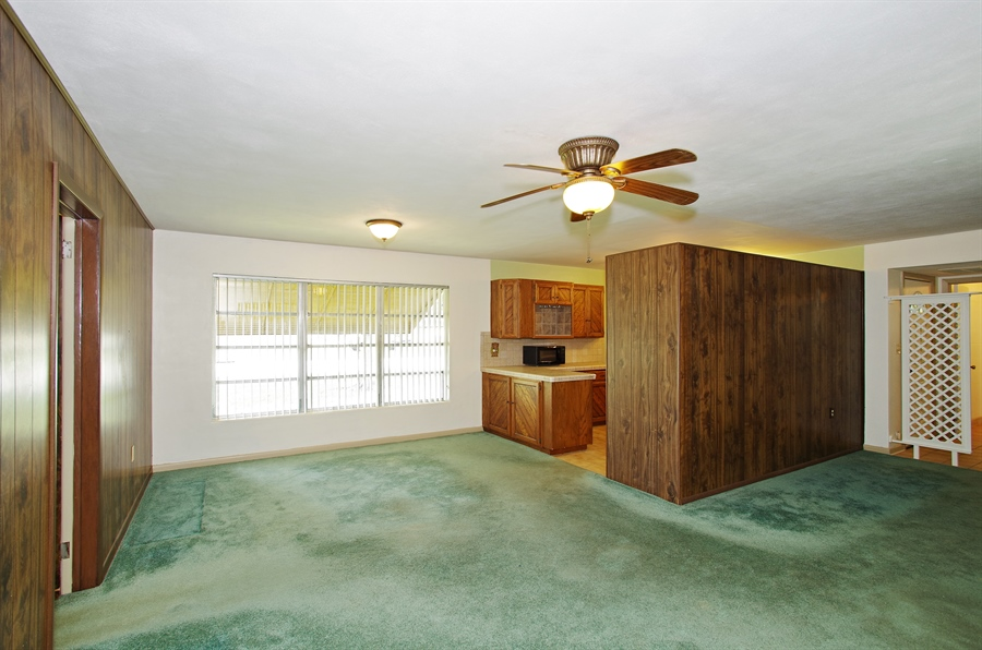 Real Estate Photography - 802 Hampton Way, Merritt Is, FL, 32953 - Dining Room