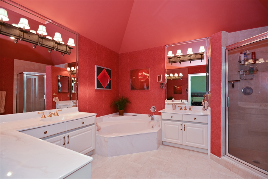 Real Estate Photography - 5154 Lake Catalina Drive, D, Boca Raton, FL, 33496 - Master Bathroom