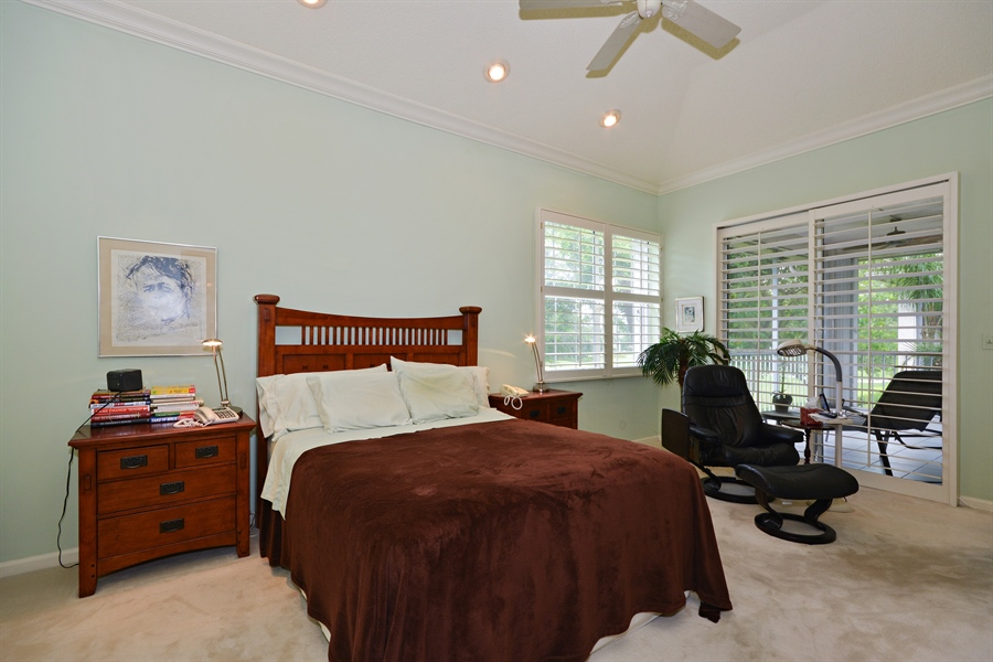 Real Estate Photography - 5154 Lake Catalina Drive, D, Boca Raton, FL, 33496 - Master Bedroom
