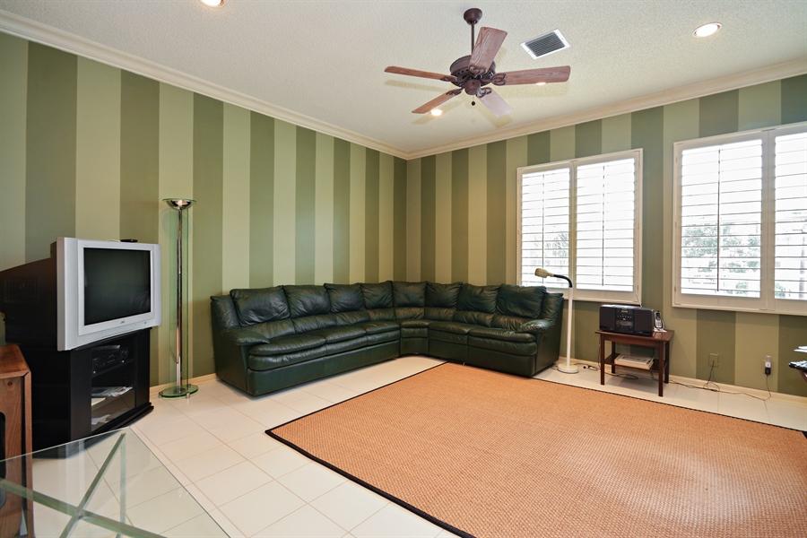 Real Estate Photography - 5154 Lake Catalina Drive, D, Boca Raton, FL, 33496 - Family Room