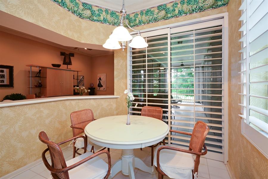 Real Estate Photography - 5154 Lake Catalina Drive, D, Boca Raton, FL, 33496 - Breakfast Nook
