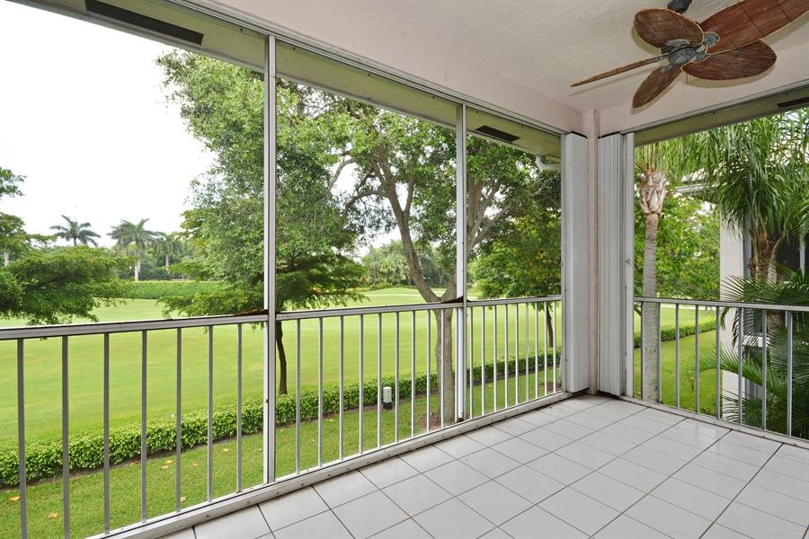 Real Estate Photography - 5154 Lake Catalina Drive, D, Boca Raton, FL, 33496 - Balcony View