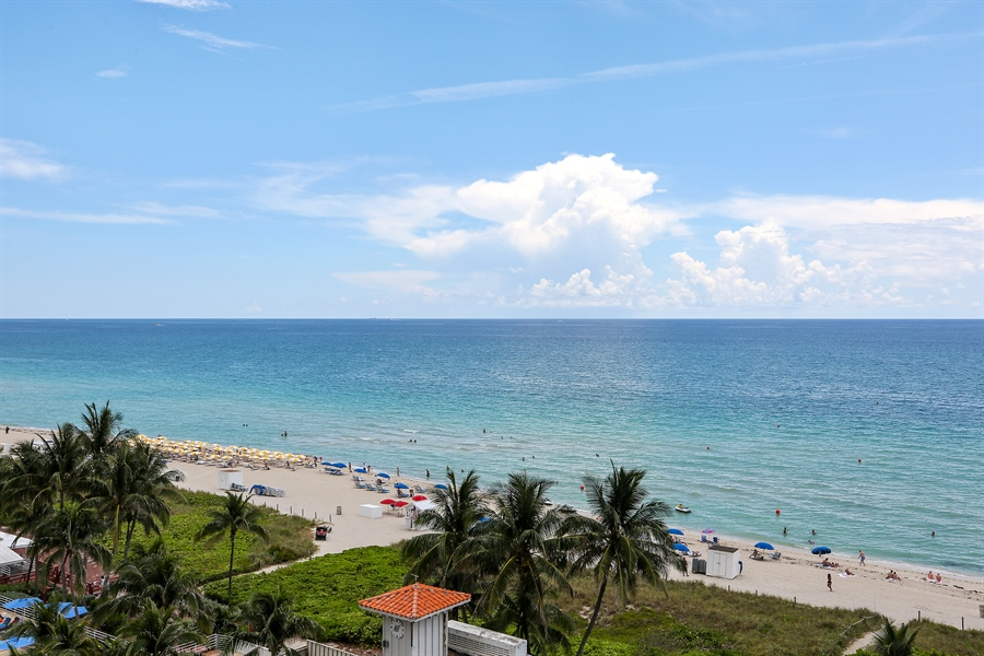 Real Estate Photography - 4779 Collins Ave, 902, Miami Beach, FL, 33140 - View