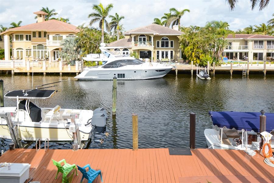 Real Estate Photography - 11 Pelican Dr, Fort Lauderdale, FL, 33301 - Dock
