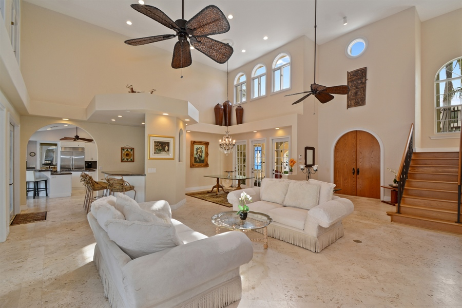 Real Estate Photography - 11 Pelican Dr, Fort Lauderdale, FL, 33301 - Living Room