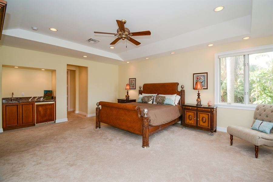 Real Estate Photography - 11 Pelican Dr, Fort Lauderdale, FL, 33301 - Master Bedroom