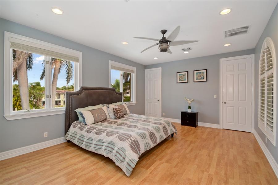 Real Estate Photography - 11 Pelican Dr, Fort Lauderdale, FL, 33301 - Bedroom