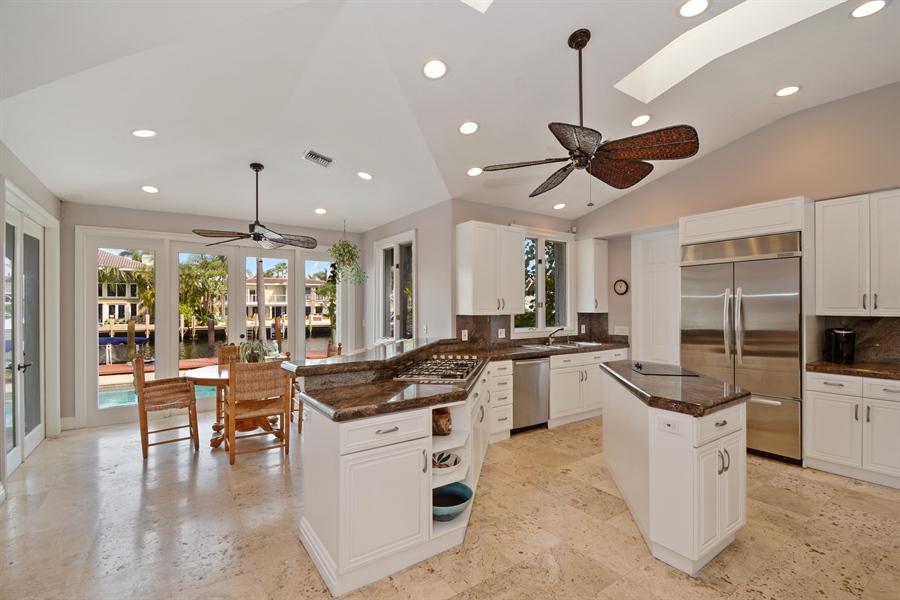 Real Estate Photography - 11 Pelican Dr, Fort Lauderdale, FL, 33301 - Kitchen / Breakfast Room