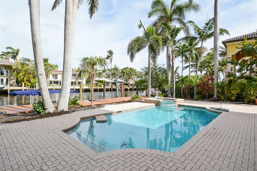 Real Estate Photography - 11 Pelican Dr, Fort Lauderdale, FL, 33301 - Pool